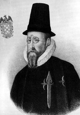Luis de Velasco, reprografía de litografía