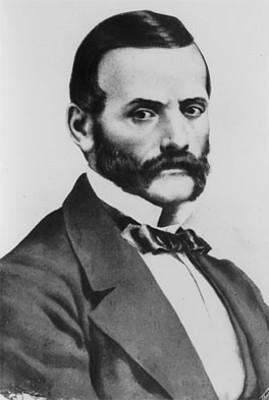 Miguel Lerdo de Tejada, músico, litografía