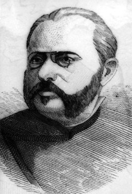 E.A. Frimont, médico, grabado