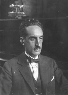 """""""Adolfo Best"""" Maugard, pintor y escritor, retrato"""