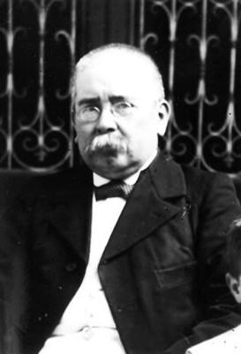 """Victoriano """"Agüeros"""", retrato"""