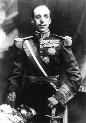 """Alfonso XIII"", Rey de España, reprografía"