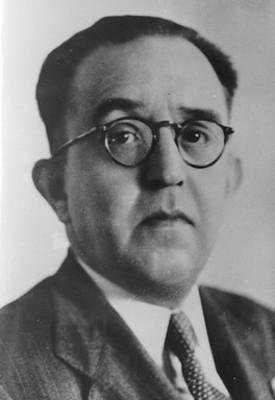 Alfonso Caso, arqueólogo y abogado, retrato