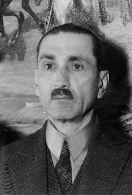 """Luis """"Castillo Ledón"""", gobernador de Nayarit, retrato"""