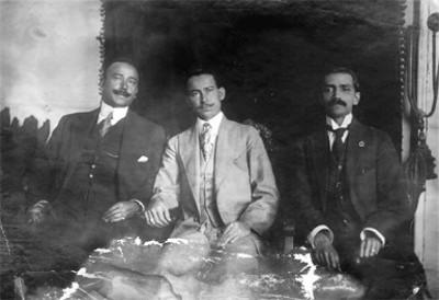 Rafael Cárdenas y hombres, retrato