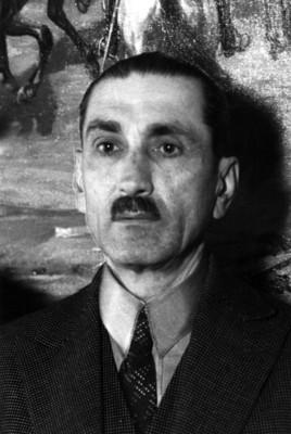 "Luis ""Castillo Ledón"", periodista, retrato"