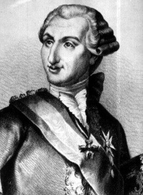 Carlos III, Rey de España. litografia