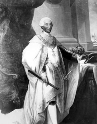 Carlos III, litografía