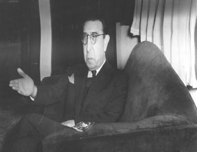 Alfonso Caso, arqueólogo, retrato