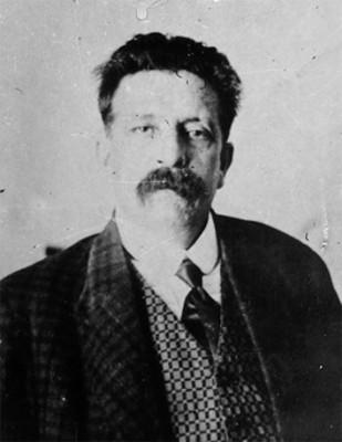 """Salvador """"Díaz Mirón"""", político y poeta, retrato"""
