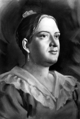 Josefa Ortíz Domínguez, pintura