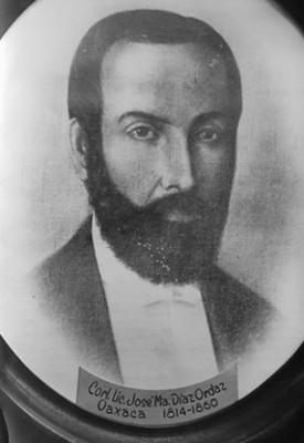 Corl. Lic. José María Díaz Ordaz, pintura