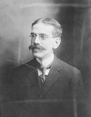 Luis González Obregón Historiador, retrato