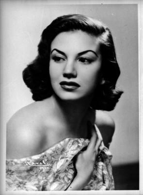 Ana Luisa Peluffo, actriz de cine, retrato