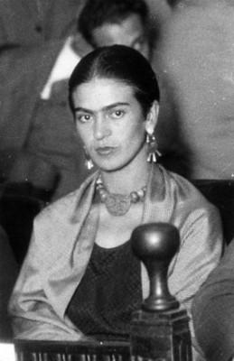 Frida Kahlo Calderón, pintura, retrato