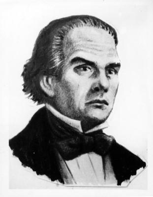 Manuel Crescencio Rejon', litografía, retrato