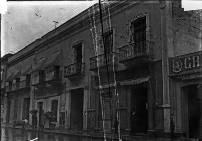 Casa de la familia Serdán, fachada