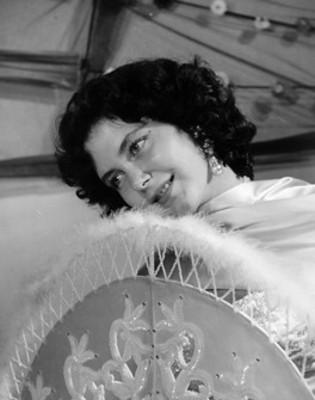 Srita Barbara West'. Actriz, retrato
