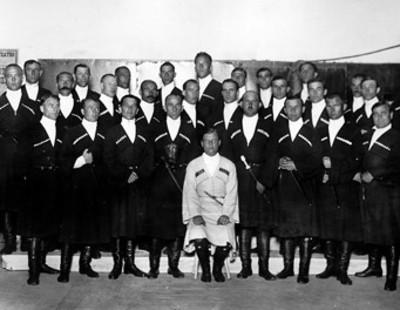 Los Cosacos del Don, retrato de grupo