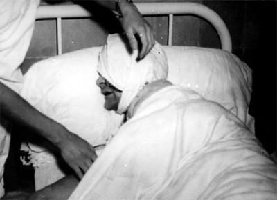 Jacques Monard en el hospital