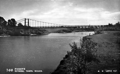 Puente Reynosa, Tamps. Mex., vista parcial