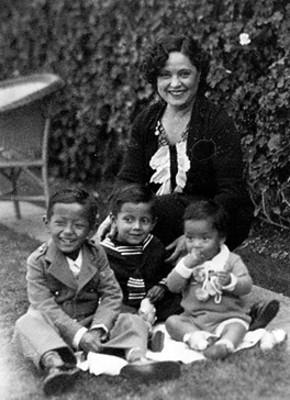 Familia de Genaro Vázquez, retrato