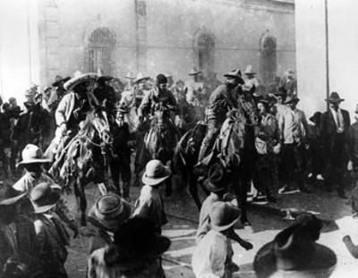 Raúl Madero entra a la ciudad de Monterrey