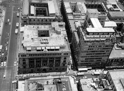 Banco de México, vista aérea
