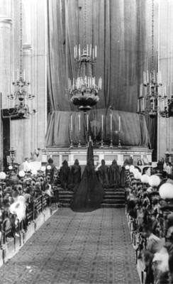 Semana santa en catedral. La solemne Ceremonia de La Cena