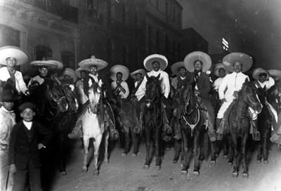 Ejercito zapatista entra a la ciudad de México