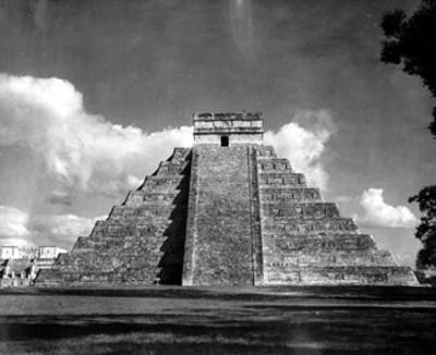 Pirámide del Castillo en Chichén Itzá