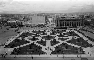 Plaza de la Constitución panorámica