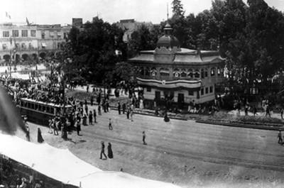 Plaza de las Armas, vista parcial