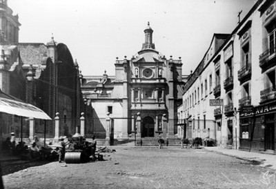 Plaza del Seminario, vista parcial