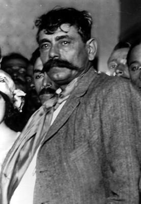 Gral. Eufemio Zapata, hermano del jefe del Ejército del sur, retrato