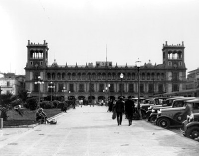 Edificio del Ayuntamiento Municipal, fachada