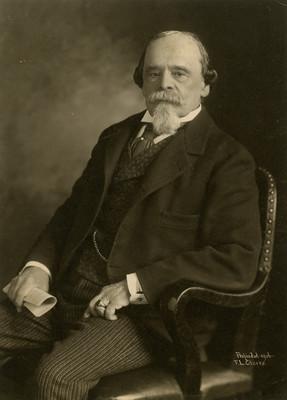 Ignacio Mariscal, secretario de Relaciones Exteriores, retrato