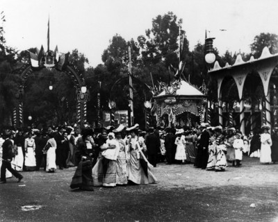Kermesses en el Tivoli de Eliseo