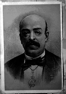 Francisco Pimentel, historiador y politico, grabado