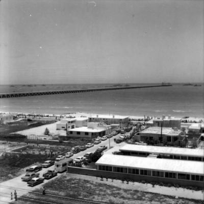 Puerto maritimo, vista aérea
