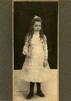 Angelita Agueros, retrato