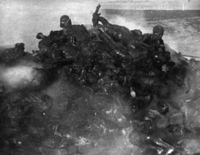 Cadáveres incinerados en Balbuena