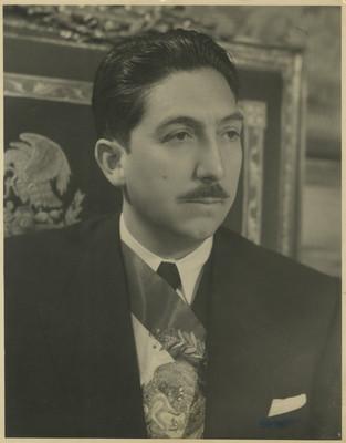 Retrato de Miguel Alemán Valdés