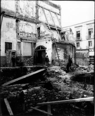 Excavación en el Templo Mayor, reprografía
