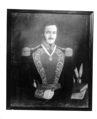 """""""José María Tornel y Mendivil"""", militar, pintura"""