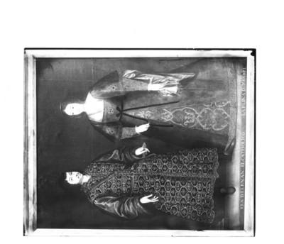 """""""Fernando El Católico [y] La Reina Isabel"""", pintura, reprografía"""