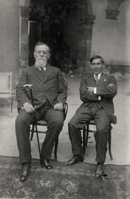 Venustiano Carranza y Modesto González Galindo