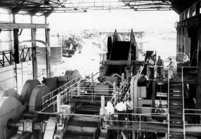 "Hombres trabajan en ingenio azucarero ""San Cristobal"""