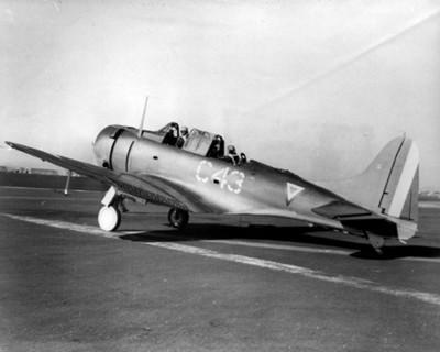 Avión C 43 en una base militar de la fuerza aérea de los Estados Unidos
