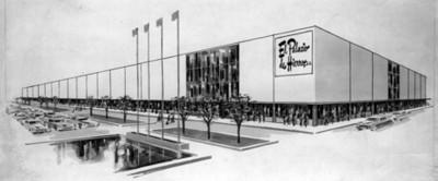 Tienda de ropa El Palacio de Hierro, sucursal Insurgentes sur, dibujo